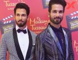 Shahid Kapoor unveiled his wax statue at the Madame Tussauds