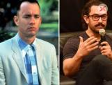 Aamir Khan as Lal Singh Chaddha - Remake of Hollywood flick Forrest Gump