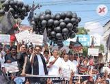 Vaiko leads protest against Modi's visit