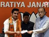 Former cricketer Gautam Gambhir joins the ruling BJP party