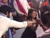 Samantha Akkineni won in an arm-wrestling match at Venky's daughter marriage!