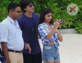 Shah Rukh Khan & her daughter's latest pic from the Maldives vacation