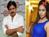 Once again Sri Reddy takes on Pawan Kalyan!