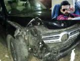 Varun Tej's car met with an accident!