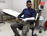 Hero Vishal badly injured in Turkey shoot