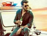 Holding Beer on Police Jeep. Vishal Slammed for his 1st look...!