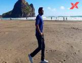 Manchu Vishnu Scouting for Locations in New Zealand!