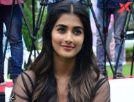 Pooja Hegde at Valmiki movie press meet - Photos