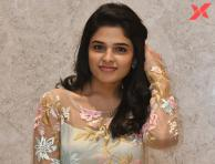 Harshitha Chowdary at Tholubommalata movie pre release event Photos