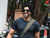 Farhan Akhtar spotted photos at Otters club in Bandra