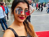 Yashika Aannand shares vacation pictures through her social media