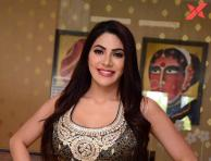 Nikki Tamboli Latest Photos from Kanchana 3 Press Meet