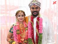 Niveditha Gowda and Chandan Shetty wedding photos