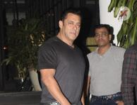 Salman Khan latest pictures taken at Soho House Juhu