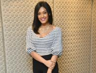 Sarah Harish at Sri Bharatha Baahubali Movie Press Meet - Photos