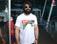 KGF star Yash spotted at airport - Photos