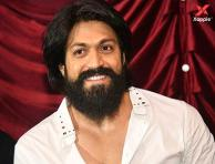 KGF star Yash at 'Obirayana Kathe' movie title launch event - photos