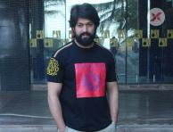 Yash at KGF Movie Promotions