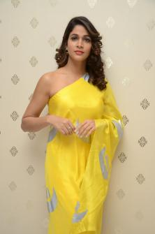 Actress Lavanya Tripati Intelligent Movie Press Meet Stills