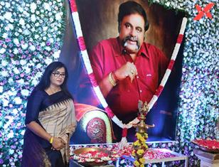 Ambareesh first Year Ceremony - Photos