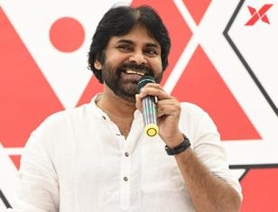 Pawan Kalyan at Janasena Party Meet