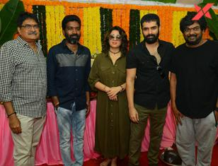 Ram Pothineni's RED movie opening stills