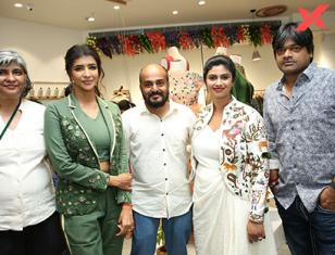 Launch of 'Endless Knot' Handloom Store at AMB Mall by Tollywood Actress Lakshmi Manchu, Director Harish Shankar and Raghu Kunche