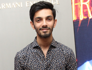 Anirudh Ravichander stills from the Launch of Armani Exchange store in Chennai