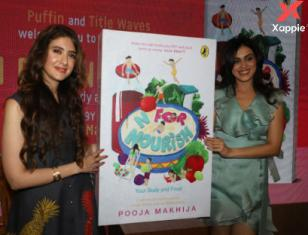 Genelia Dsouza launches Pooja Makhija's N for Nourish book at Mumbai