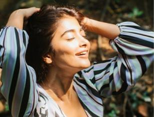 Pooja Hegde is creating new waves on the net with her photoshoots