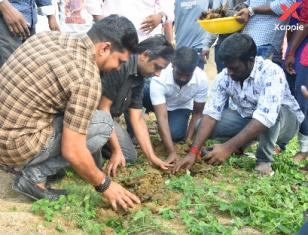Vijay Sethupathi fans planted 41000 plants on the occassion of their hero's 41st birthday