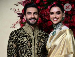 Deepika and Ranveer Wedding  Reception Photos