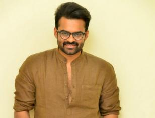 Supreme Hero Sai Dharam Tej Jawaan Movie Interview Stills