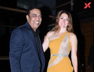 Vindu Dara Singh & his wife spotted at Esco Bar in Bandra, Mumbai