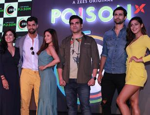 Arbaaz Khan & Riya Sen At Press Conference Of Zee5 Web Series 'Poison'