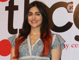 Adah Sharma Stills From the Beauty Centre Group event at Rangsharda in bandra