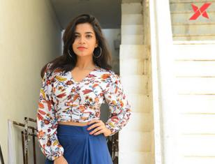 Prashanthi Latest Photos from Falaknama Das Pressmeet