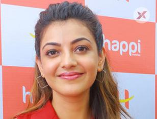 Grand Launch of Happi mobile store  at Hanumakonda Launching by Kajal Agarwal