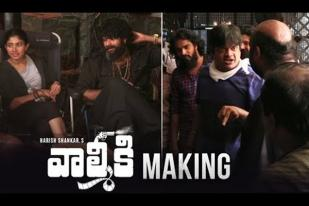 Valmiki Movie Making- Varun Tej, Atharvaa, Pooja Hedge