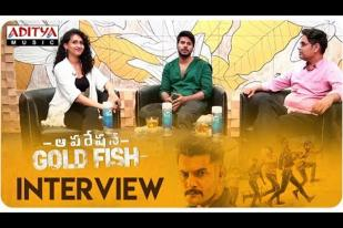 Operation Gold Fish interview With Sundeep Kishan
