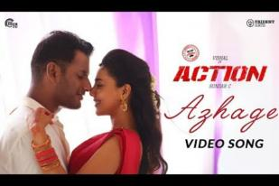 Azhage video song from Vishal's Action movie