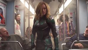 CAPTAIN MARVEL Arrives On Earth Trailer (NEW 2019) Brie Larson Superhero Movie