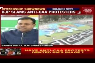 Sambit Patra Slams Anti-CAA Protesters at Shaheen Bagh, also Hits out at AAP