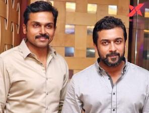 Karthi thanks brother Suriya at Sulthan movie press meet