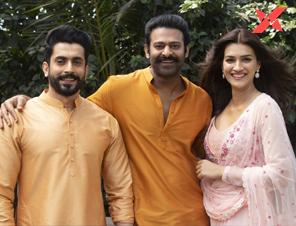 Kriti Sanon joins Prabhas, Saif Ali Khan & Sunny Singh in Adipurush, shares pictures from the set