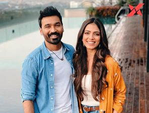 Malavika Mohanan shares pics with Dhanush from D43 movie sets