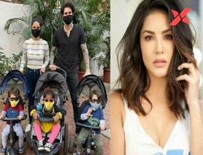 Sunny Leone shifts to Los Angeles with Daniel Weber and her three kids amid the Coronavirus crisis; See Pic