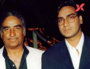 Star hero Ajay Devgn remembers his father Veeru Devgan on his first death anniversary