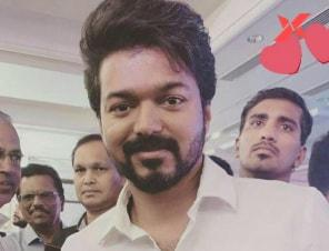 Thalapathy Vijay attends a family reception. Pics go viral