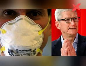 Coronavirus: Apple commits to donating 10 million masks to healthcare workers in the US